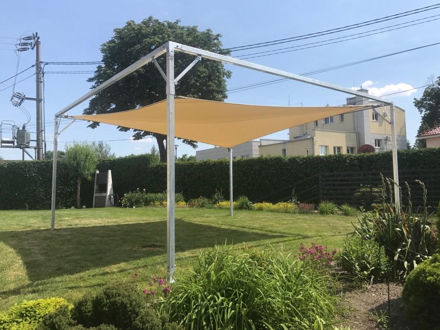 Żagiel przeciwsłoneczny prostokątny - KAMPA Żagle